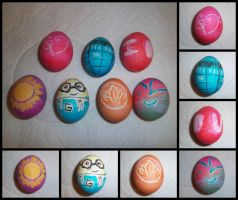 Easter Eggs 2014 by HermioneFrost