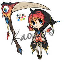 Macaw Reaper Adopt Auction ::CLOSED:: by kaoppai