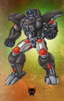 Beast Wars Optimus Primal by Dan-the-artguy