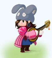 Jrpg musician by uksusss