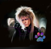 Jareth speedpaint by KatTheGrrreat