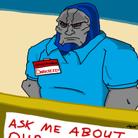 Darkseid is... the Manager by Captain-Marvelous
