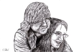 Me and my girl friend by Chimaera94
