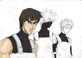 VIP ANBU dream team 2 by Sanzo-Sinclaire