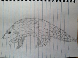 Pangolin request by Cartoon-Heart
