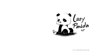 Lazy Panda wallpaper by zeusplara