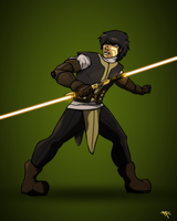 Cole Issama, Jedi Knight by RRproAni