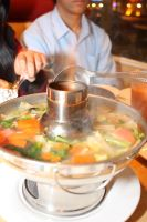 Flaming Hot Tum Yum Soup by djqcookie