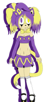 .:com:. Lucy the Jester Cat by Laurathedog