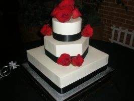 wedding cake 40 by ninny85310