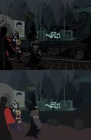 Batman spread Flats by Eddy-Swan-Colors