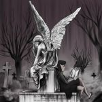 Grave yard by Katherine-Olenic