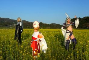 Sephiroth, Onion and Kuja by Dolly-chan