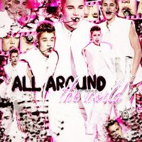 +All Around The World by FlyWithMeBieber