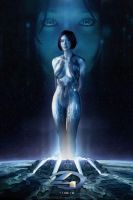 Cortana Halo 4 Photoshop Fan Art by rs2studios