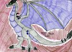Gwythaint the Wyvern by FlygonPirate