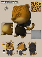 ONEPIECE-Lucci(Leopard ) by usaki1987