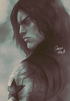 Winter Soldier by ceriselightning