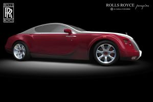 Rolls Royce Red... by peregrhino