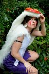 Princess Mononoke- San by VandorWolf
