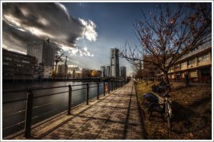 Sky Garden and The Man by Graphylight