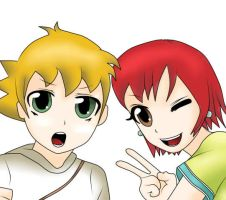 Isaac and Trista by Jeako