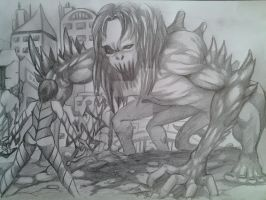 the monster by tigeragito