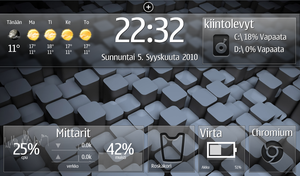 Netbook Desktop by kanttii