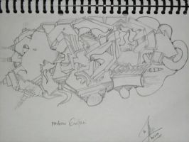 my fisrt sketch by gilang2007