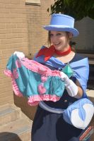 Trucy Wright and her Magic Panties by smorggie