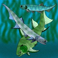 Late Devonian Acanthodians by avancna