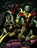 XMEN80s by redeve
