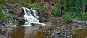 Gooseberry Falls in Summer by sequential