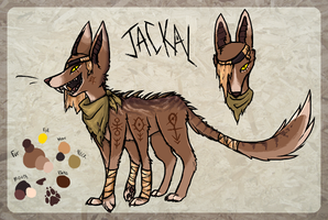 Jackal - Design Comp by Purrlstar