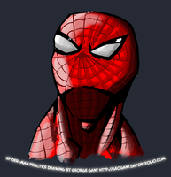 Quick Spidey Drawing by geogant