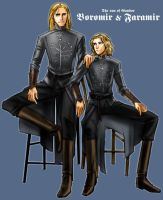 Boromir and Faramir by idolwild