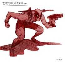 Deadpool by GWhitehall