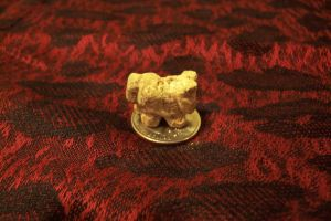 Tiny Soapstone Horse Carving 2 by shadechristiwolven