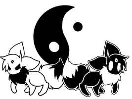 Ying and Yang by pupom