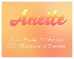 Anette by Future275