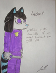 Lucient, the Lucielle of a darker timeline by MissLuckychan29