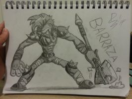 Brawlhalla - Barraza by TheMostSafestPublic