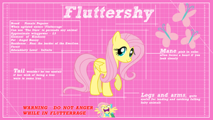 Fluttershy Design by ikonradx