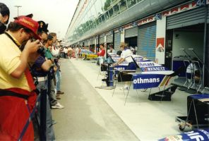 Pit Lane (Italy 1995) by F1-history