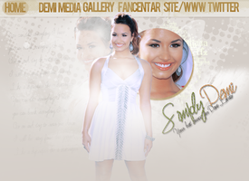 Demi Lovato Header by crucioimpedimenta