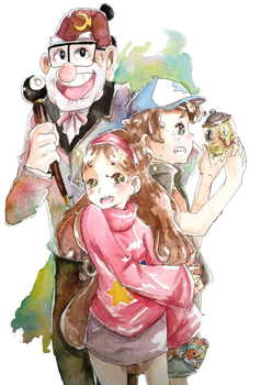 Gravity Falls by Pasuteru-Usagi