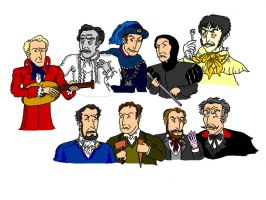 Vincent Price's many faces by Salvini