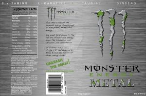 New Monster Label - FAKE by MattShadoinDesign