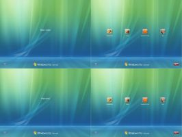 Vista Default Login v.10.7 by RaulWindows