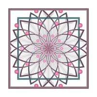 Framed flower with parameters by Astrantia01